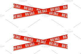 ribbons for sale big sale banners ribbons isolated on white background