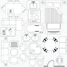 Blueprint Door Symbol by Furniture Blueprint Maker Amazing D Home Floor Plan Ideas