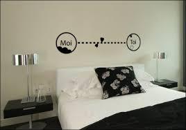 stickers phrase chambre sticker chambre déco murale toi et moi nombreuses couleurs