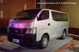 nissan caravan 2013 manila motoring your source for automotive information in the