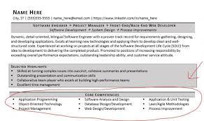 Core Competencies Resume Examples Strength In Resume Lukex Co