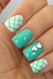 cute nail design the 5 best aqua nails manicure and nail art images