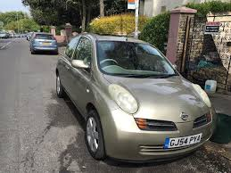 nissan micra 54 1 2 manual in margate kent gumtree
