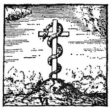 the serpent on the cross becomes jesus on the cross gnosticwarrior com