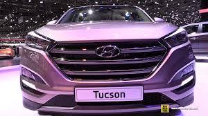 hyundai tucson 2016 2016 hyundai tucson exterior and interior walkaround 2015