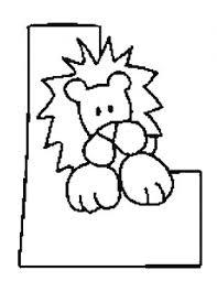 coloriages lettres pour les petits avec animaux page 1 alphabet