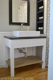 Download Vanity Bathroom Wonderful Open Style Vanity With Drawers Throughout