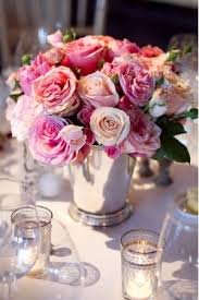 roses centerpieces roses in mint julep cup centerpieces budget brides guide a
