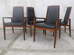 mid century walnut dining chairs by foster mcdavid sold items
