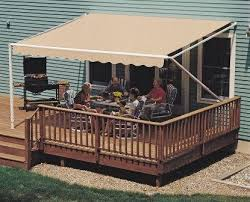 Outdoor Patio Awnings Amazon Com 20ft Sunsetter Sand 1000xt Retractable Awning Patio
