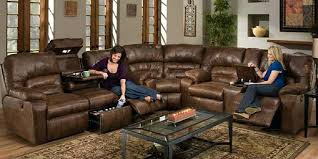 Sectional Recliner Sofa With Cup Holders Sectional Sofas With Recliners And Cup Holders Wojcicki Me