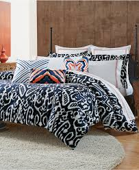 Macys Bedding Bedroom Exciting Macys Flannel Sheets In White And Grey Stripped