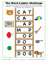 word ladder challenge word ladders phonics and first grade phonics