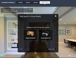 Virtual Reality Experience Home Designs in VR