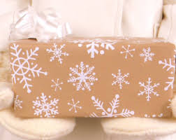 kraft wrapping paper etsy