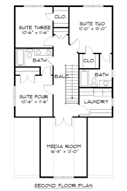 house plans with media room craftsman style house plan 4 beds 3 50 baths 2258 sq ft plan
