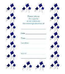 25 unique free printable graduation invitations ideas on
