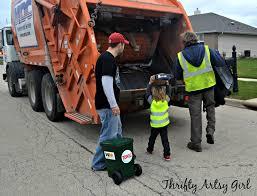 Truck Driver Halloween Costume Trash Diy Toddler Sized Wheeled Trash