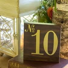 Table Numbers Wedding Diy Wood Table Numbers For A Wedding Unoriginal Mom