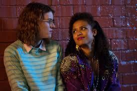 Interacial Lesbians - inside san junipero black mirror s beautiful nostalgia trip