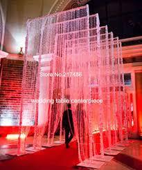 Mandap Decorations Aliexpress Com Buy 3ftx12ft 90x360cm Acrylic Crystal Curtain For