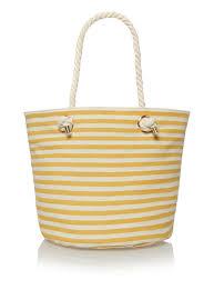nautical bag womens yellow striped nautical bag tu clothing