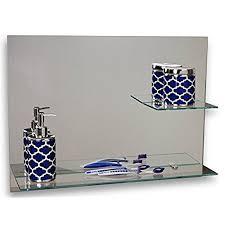 Bathroom Mirror With Shelves Bathroom Mirror With Shelves
