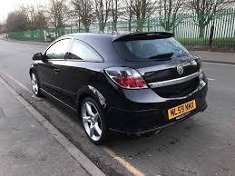 opel astra 2005 coupe 2009 vauxhall astra sri xp auto automatic 3 door coupe 36000