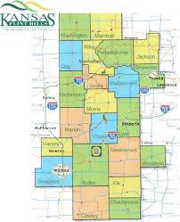 Map Of Counties In Kansas Kansas Flint Hills Quilt Trail Home