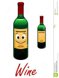 cartoon wine and cheese cartoon wine bottle stock vector image 44058904