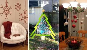 creative ideas to decorate home top 38 easy and cheap diy christmas crafts kids can make amazing