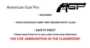 ohio concealed carry class u2013 american gun pro