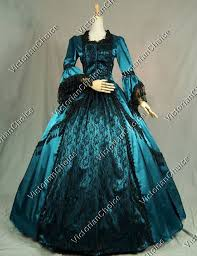 Marie Antoinette Halloween Costume Antoinette Renaissance Fair Queen Dress Ball Gown Theater