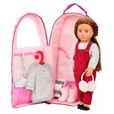Target Our Generation Bed Our Generation Doll Carrier Stripes Pink U0026 Gold Target
