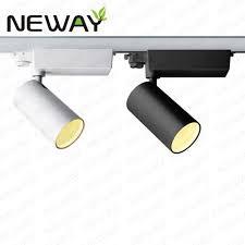 pro track lighting manufacturer 20w 30w 40w led track head track for retail led track lighting led