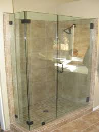 Corner Shower Glass Doors Corner Shower
