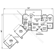 floor plans with porte cochere jennifer 56462 french country home plan at design basics