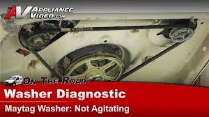 washer diagnostic u0026 repair not agitating maytag whirlpool