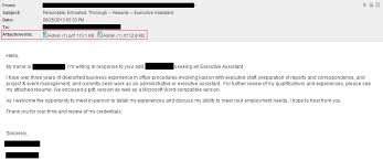 Do My Resume Online by Exciting When Sending A Resume By Email What To Write 51 For Your