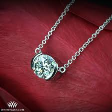diamond ring necklace images Solitaire not solitary accessorizing a solitaire diamond ring jpg
