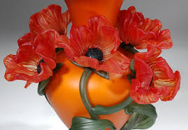 Vase With Red Poppies Susan Rankin Aacg