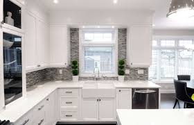 trendy gray and white kitchen cabinets by grey 9356 homedessign com