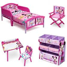 minnie mouse bedroom set disney minnie mouse room in a box with bonus chair walmart com