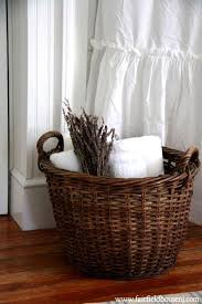 Bathroom Basket Ideas Design Ideas Bathroom Basket Basket For Towels In
