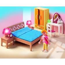 playmobil chambre des parents playmobil 5331 chambre à coucher des parents avec lumière
