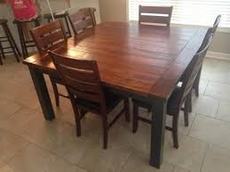 60 inch square dining table with leaf diy 60 inch square farmhouse table diy home projects pinterest