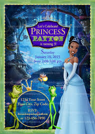 princess frog birthday party printables omg gift emporium