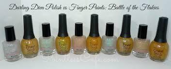 flaky comparison darling diva girlfriends collection vs finger