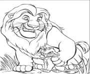 free lion king mufasa simba e1449385528983f9f2 coloring pages