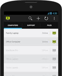 android remote access remotely support android devices isl